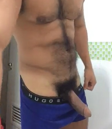 Monster cock hairy