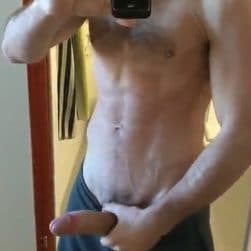 Fit guys with big dicks