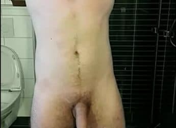 Big Uncut Cock Video